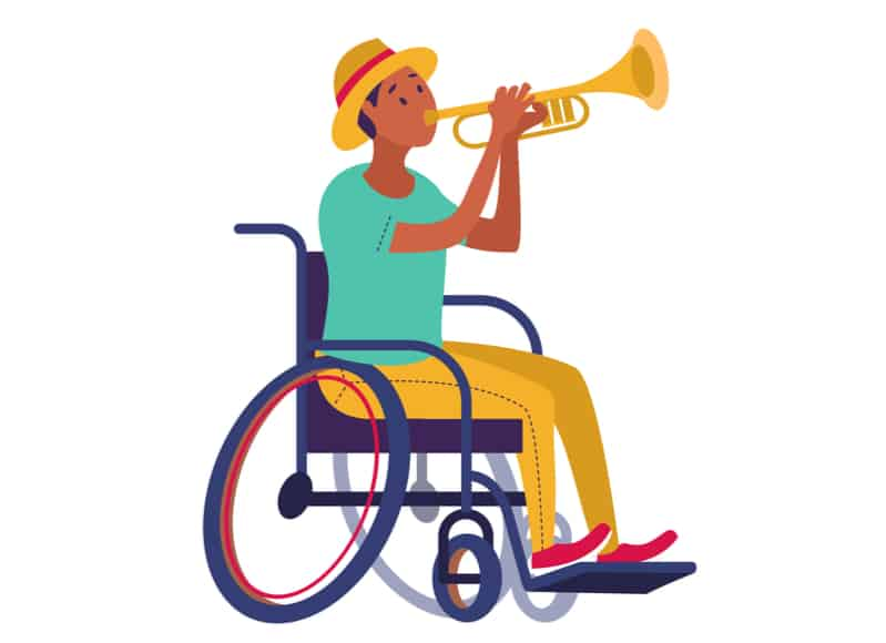 man-playing-trumpet-in-wheelchair-music-therapy